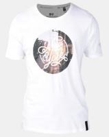 Crosshatch NY Sunset Photo Print T-shirt White Photo