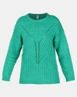 Elm Emerald Knit Top Green Photo