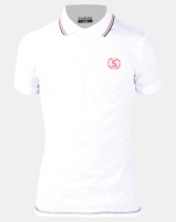 Swagga Golfer with Collar Detail White Photo