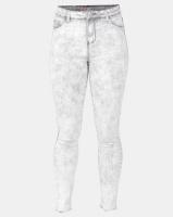 Legit Fray Hem Skinny Jeans Marble Grey Photo