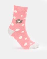 Joy Collectables 5 Pack Flower Print Socks Multi Photo
