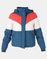 All About Eve Rapid Panel Puffer Jacket Blue Photo