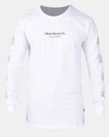 Silent Theory Low Long Sleeve Tee White Photo