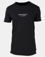Silent Theory Staple Tee Washed Black Photo