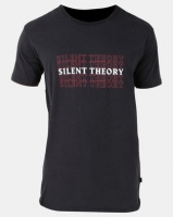 Silent Theory Blurr Tee Washed Black Photo