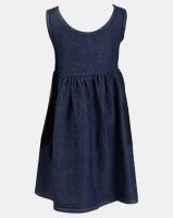 Precious Denim Dress Dark Blue Photo