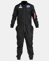 Alpha Industries NASA Vintage Jumpsuit Black Photo