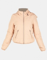 All About Eve Rose Puffer Jacket Tan Photo