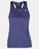 Asics Performance Silver Tank Blue Photo