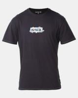 Hurley LTWT OAO SM Box Flor T-shirt Black Photo