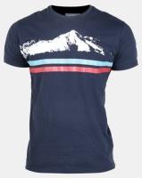 Utopia Alps Printed T-Shirt Navy Photo