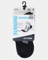 ASICS 2PK Cushioning Socks Black Photo