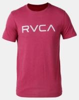 RVCA Big RVCA Short Sleeve Tee Red Photo