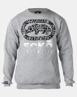 ECKO Unltd Printed Logo Crew Grey Photo