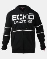 ECKO Unltd Stripe Hoodie Black Photo