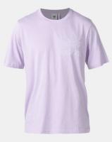 adidas Originals Mens Outline Tee Lilac Photo