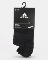 adidas Performance Invisible T Socks 3P Black Photo