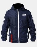 K Star 7 K-Star 7 K7 Sport Barnes Nylon Zip Through Jacket Royal Photo