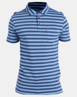 Levi's ® Ama Short Sleeve Sunset Polo Crush Arctic Blue Photo