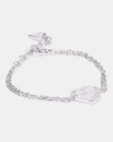 Guess Heart Warming Charm Silver-Plated Photo