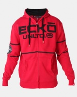 ECKO Unltd Stripe Hoodie Red Photo