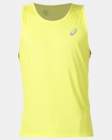 ASICS Silver Singlet Yellow Photo