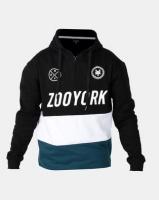 Zoo York Colour block Badge Hoody Black Photo