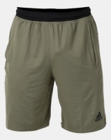 adidas Performance 4KRFT Sport Ultimate Knit 9-Inch Shorts Olive Photo