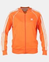 adidas Originals Ladies SST Track Top Orange Photo