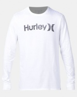 Hurley One And Only Push Through Long Sleeve T-shirt White Photo