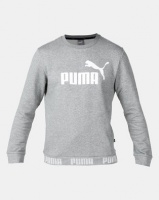 Puma Sportstyle Core Amplified Crew FL Grey Photo