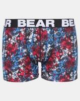 Bear 3 Pack Bodyshort Punk Print Multi Photo