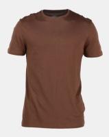 New Look Crew Neck T-Shirt Brown Photo