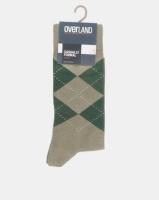 Overland Formal Mens Argyle Green Photo