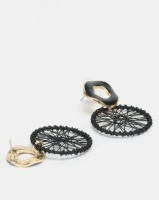 Lily Rose Lily & Rose Dream Catcher Drop Earrings Black Photo