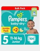 Pampers Active Baby Junior Jp 2X52 Twin Pack Photo