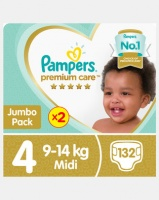 Pampers Premium Care Maxi Jp 2X66 Twin Pack Photo