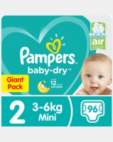Pampers New Baby Mini Giant Pack 96 Photo