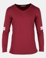 Utopia Long Sleeve T-shirt Burgundy Photo