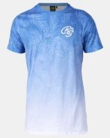 Crosshatch Blue Salicornia Floral Print T-shirt Photo