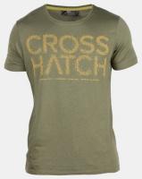 Crosshatch Bingley Logo T-shirt Olive Photo