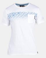 Crosshatch Westfan Chest Print with Pocket T-shirt White Photo