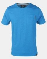 Crosshatch Odonata Slub Pocket T-shirt Blue Photo