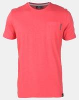 Crosshatch Odonata Slub Pocket T-shirt Redwood Photo
