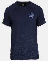 Crosshatch Linecamo Printed T-shirt Navy Photo