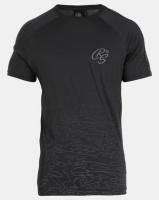Crosshatch Linecamo Printed T-shirt Black Photo