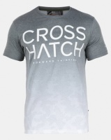Crosshatch Green Slenford Ombre Camo T-shirt Photo