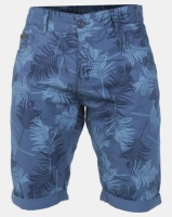 Smith & Jones Insignia Morford Floral Printed Twill Shorts Blue Photo
