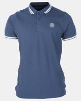 Smith & Jones Insignia Blue Larsen Plain Pique Tipped Golfer Photo