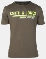 Smith & Jones Forest Green Night Axten Logo T-shirt Photo